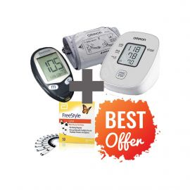 freestyle-glucose-monitor-with-strips-and-lancets-pack-1